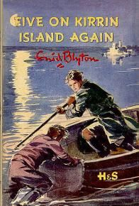 Five on Kirrin Island Again. By Enid Blyton. Very nice illustrations by Eileen Soper. Vintage Book Covers, Vintage Children's Books, Antique Books, I Love Books, My Books, Famous Five Books, Enid Blyton Books, Comics Vintage, Books For Teens