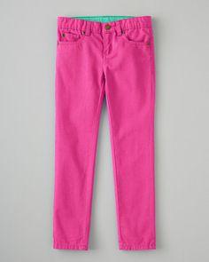 Garnet Hill Signature Skinny Jeans - Baby Girls & Girls