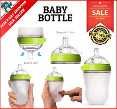 Nice Comotomo Baby Bottle Green 8 Oz Safe In Microwave Made Hygienic Silicone Check More At
