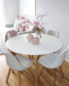 Of our favourite millennial pink home decor picks 33 Of our favourite millennial pink home decor picks our favourite millennial pink home decor picks 33 Trackbacks are closed, but you can Pink Home Decor, Apartment Dining, Dining Room Small, Living Room Decor, Home Decor, House Interior, Apartment Decor, Room Decor, Dining Room Decor