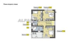 🏠 Современный дом с односкатной кровлей: цены, планировка, фото. Купить готовый проект Catalog, Floor Plans, Brochures, Floor Plan Drawing, House Floor Plans