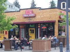 The Elk Public House in Spokane Washington, used to be an old drug store where I would take my daughter for ice cream.