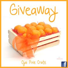 Winning this Ojai Pixie crate is easy! Here is how to enter - http://gvwy.io/4j76fj & Tag 3 Friends to spread the love!