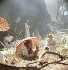 'Picnic At Hanging Rock': The Cult Classic You Should Get To Know- ellemag Picnic At Hanging Rock, Comic Manga, Wallpaper Aesthetic, Cult, Out Of Touch, Vintage Princess, Princess Aesthetic, Portrait, Aesthetic Pictures