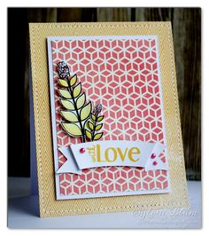 ...{Sylvias Stamping Place}... With Love by Sylvia Blum