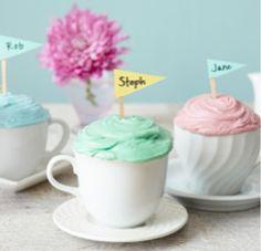 Creative Cupcake Party Idea