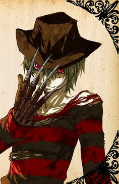 Anime Freddy Krueger