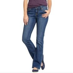 """Old Navy Denim- The Dreamer Bootcut New listing! The """"Dreamer"""" bootcut jean. Medium wash with no distressing. Size 6. Measurements upon request. Old Navy Jeans Boot Cut"""