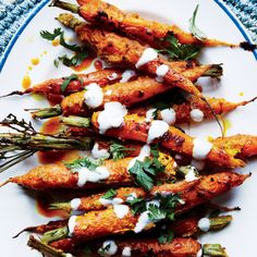 """Tandoori"" Carrots with Vadouvan Spice and Yogurt Recipe"