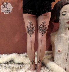 "bitofanink: "" _Hot Tattoo Blog_ Mirja Fenris """