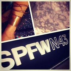 #asjoiasdarainhanospfw #spfw43 #cobre #spfw43 #moda #fashion #acessórios #joias#asjoiasdarainha
