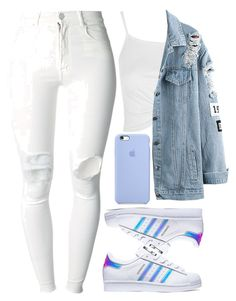 """""""May 27th 2016"""" by inesdinis6 ❤ liked on Polyvore featuring Topshop, adidas and (+) PEOPLE"""