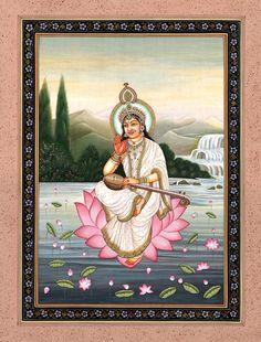 Kailash Raj - Goddess Saraswati