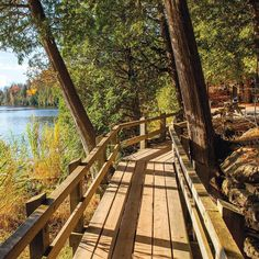 This Elevated Boardwalk Trail Will Lead You To A Rare Turquoise Lake In Ontario Ontario Travel, Canadian Travel, Get Outdoors, Kayaking, Canoeing, Hiking Trails, Beautiful Landscapes, Day Trips, Adventure Travel