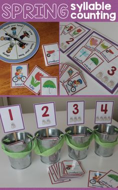 Get Moving with Syllable Awareness - Kids jump, stomp, clap, etc. as they count syllables.