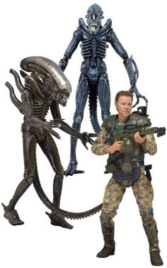 Alien  7 inches Action Figure Series 2 Set of 3 japan import >>> Read more reviews of the product by visiting the link on the image.