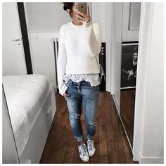 Lazy Day Outfits or How To Look Stylish with Comfy Clothing Combination Lazy Day Outfits, Mode Outfits, Fall Outfits, Casual Outfits, Hijab Outfit, Elegantes Outfit, Business Outfit, Inspiration Mode, Outfit Combinations