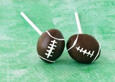 Football Cake Pops | Miss Ali's Cake Pops
