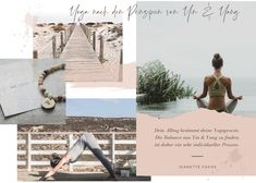 Yin & Yang Yoga mit Jeanette Fuchs – Yogakurse, Retreats & Events  #yinyoga #yinyangyoga #yogateacher #collage #yogawebsite #yogainspiration #yogaretreat #yogaeverywhere Yin Yang Yoga, Yin Yoga, Polaroid Film, Yoga Teacher, Teaching