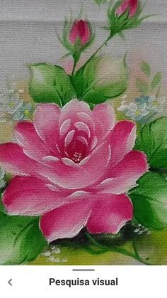Acrylic Painting For Beginners, Simple Acrylic Paintings, Acrylic Painting Techniques, Beginner Painting, Tulip Painting, Abstract Landscape Painting, Fabric Painting, Fabric Paint Designs, Xmas Pictures