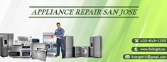 Need refrigerator & washing machine repair service in San Jose California? Work with the appliances repair experts. Call now and get services like never before. Dishwashers, Refrigerators, Appliances, San Jose California, Appliance Repair, Business Articles, Professional Services, Dryers, Stoves