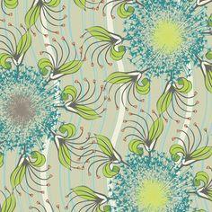 Color Splash Fabric Swatch CS-4501 Warm Exotic Blooms