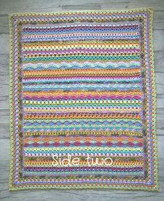 Tooty Stripey Blanket Ravelry: Tooty Stripey Blanket pattern by Tina's Allsorts Afghan Crochet Patterns, Baby Patterns, Crochet Afghans, Crochet Shawl, Crochet For Kids, Free Crochet, Crochet Rugs, Crochet Ideas, Crochet Projects