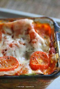 Vegan Veggie Lasagna | Vegan Richa