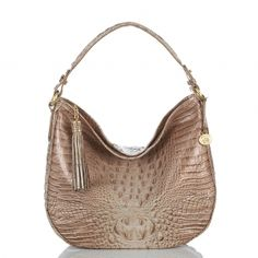 Slouchy chic, the new #brahmin kathleen hobo in aztec melbourne.