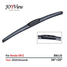 "S610 26""+20"" CAR WIPER BLADE FIT FOR Honda CR-Z (2010 onwards),  HIGH QUALITY CAR WINDSCREEN WIPER #Affiliate"
