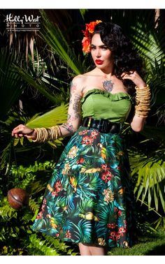 125 Best Tiki Island Attire Images In 2019 Tiki Dress