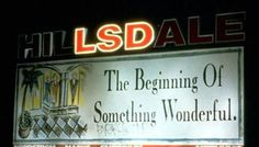 The beginning of something wonderful.