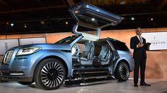 Кроссовер Lincoln Navigator Concept 2018 / Линкольн Навигатор Концепт 2018. Нью Йоркский автосалон