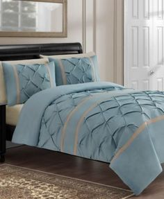 CLOSEOUT! Hamilton 3 Piece Comforter Sets | macys.com