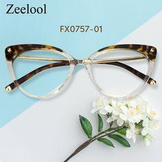 348a6a0465f Alivia Cat Eye Tortoise Crystal Glasses FX0757-01