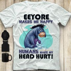 """I hear that Eeyore.I trust no """"human """" any longer .ffs they aren't even capable of love for any extended time. Eeyore Quotes, Winnie The Pooh Quotes, Winnie The Pooh Friends, Disney Dream, Disney Fun, Disney Trips, Love Is Cartoon, Winnie The Pooh Birthday, Make Smile"""