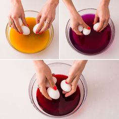 Follow this tutorial to naturally dye Easter eggs.
