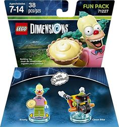 New 71227 LEGO The Simpsons Krusty the Clown Minifigure From Sets 71005