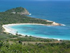 Half Moon Bay, Antigua.  Site of our honeymoon.  The hotel washed away in a hurricane, but the beach remains as beautiful as ever.