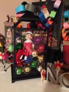 Elf on the shelf idea. Trapped!