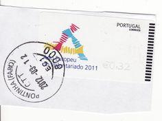 Marca dia EC1 Pontinha (Faro) de 12/03/2012