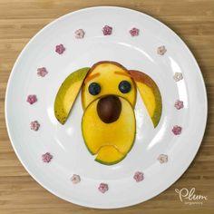 It's a dog eat dog world! #FoodArt #SuperPuffs #PlumOrganics #Mango…