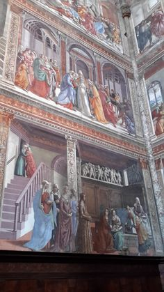 santa maria novella domenico ghirlandaio cappella tornabuoni