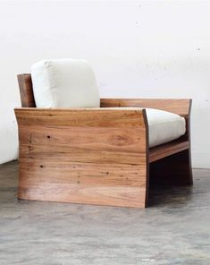 Kumo Chair - Recycled Timber Furniture Melbourne Yard Furniture #furnituredesigns Yard Furniture, Hardwood Furniture, Furniture Plans, Furniture Design, Furniture Inspiration, Home Decor Inspiration, Recycled Timber Furniture, Yard Benches, Diy Yard Decor
