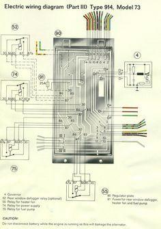 1975 porsche 914 wiring diagram example electrical wiring diagram u2022 rh cranejapan co Porsche 914 Engine Porsche 914 Transmission