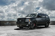 War Machine from Ultimate Auto #Tahoe #matte #satin #black