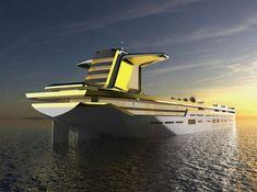Imara tanker based mega-yacht concept  , - ,   Imāra tanker ba... ,  #emirate #luxury #tanker #yacht