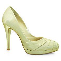 Sapato Scarpin Feminino Noiva Laura Porto