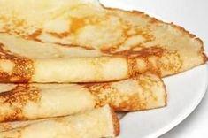 Pfannkuchen mit Milch