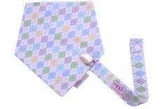 Baby blue argyle giftset – Mina Moo and Baby
